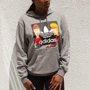 MTV Beavis & Butthead x Adidas sweatshirt